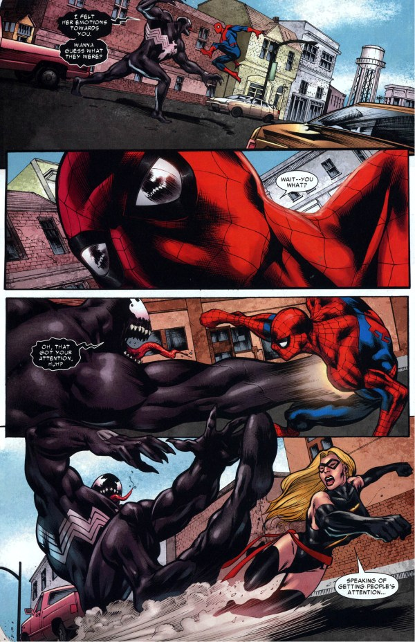 spider-man and miss marvel vs venom