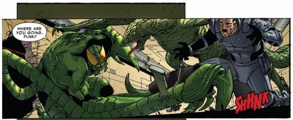 the scorpion vs the lizard