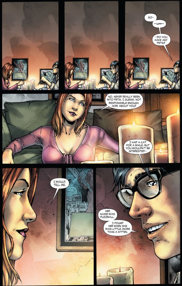 clark kent talks about his cat (earth 1)