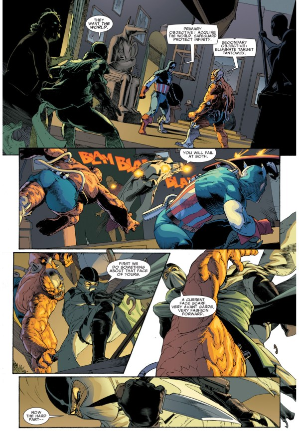 fantomex vs thing deathlok and captain america deathlok