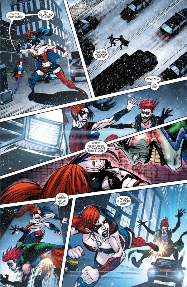harley quinn vs joker's daughter