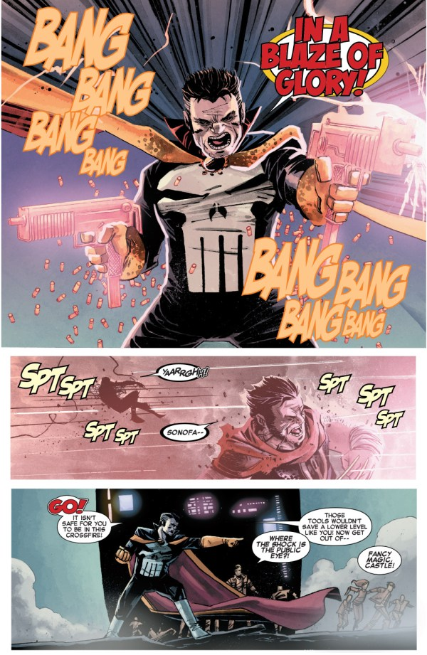 The Punisher VS The Infernal Four (Battleworld)