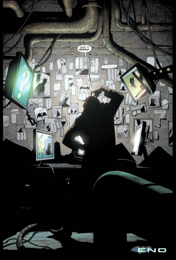 the riddler (earth one volume 1)