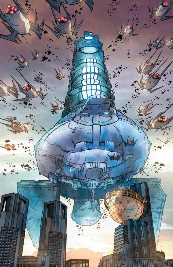tyrell attacks metropolis (earth 1)
