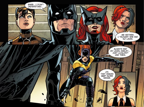 batgirl joins batman's team