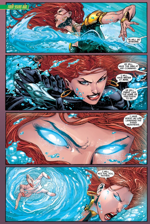 mera trains to kill aquaman