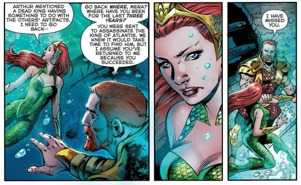 mera's history with nereus