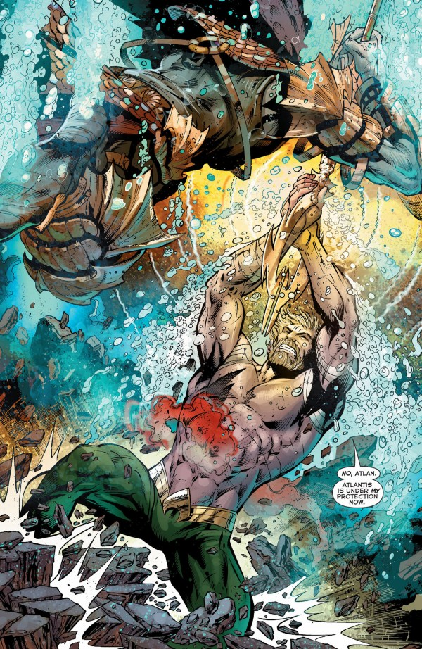 aquaman vs the dead king