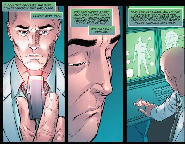 lex luthor clones superman