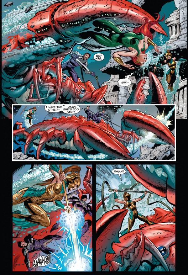 mera and tula vs underrealm rebels