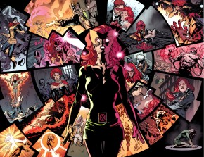 original 5 jean grey sees her future