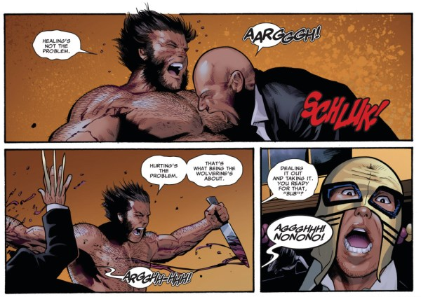 what it means to be the wolverine