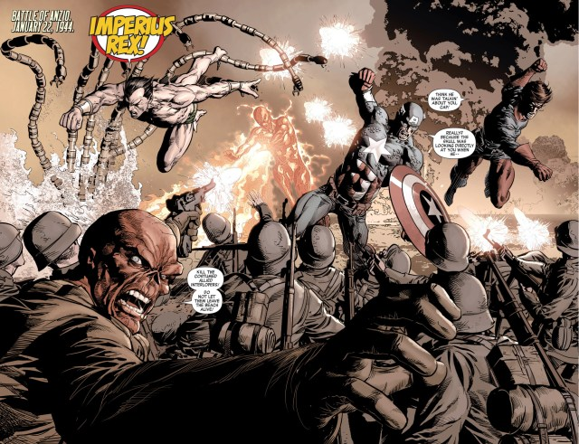 captain america and namor are brothers