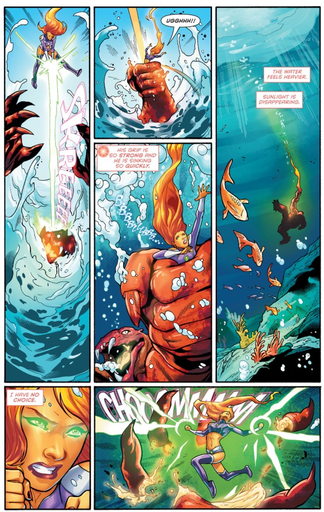 starfire vs chida monster