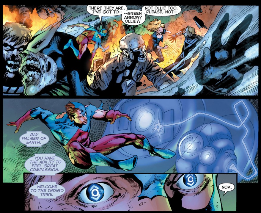 the atom joins the indigo tribe