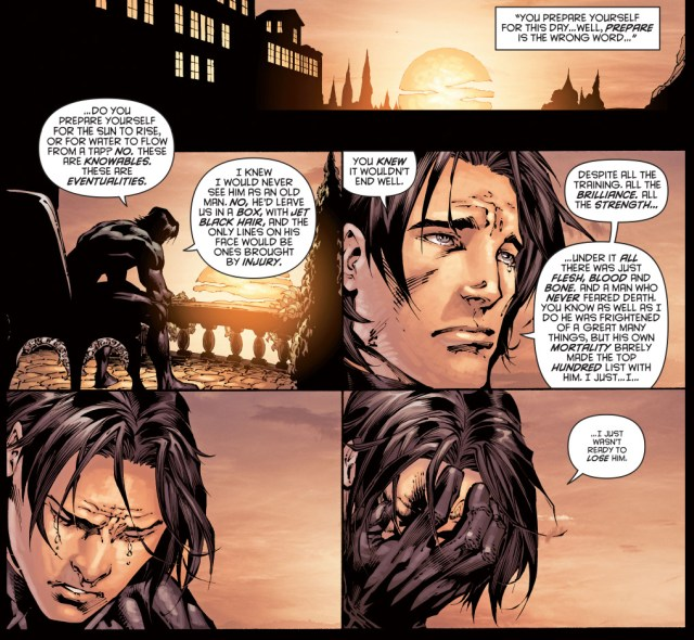 why alfred did not want a funeral for batman