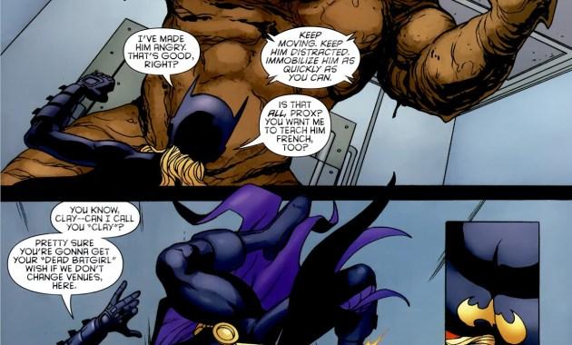 batgirl vs clayface