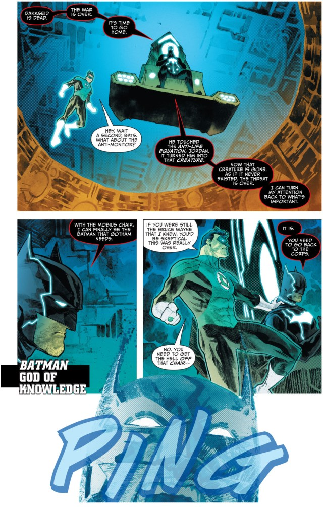 batman becomes the god of knowledge