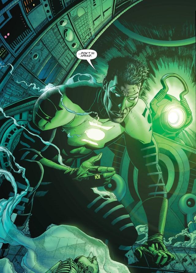 green lantern kyle rayner (rebirth)