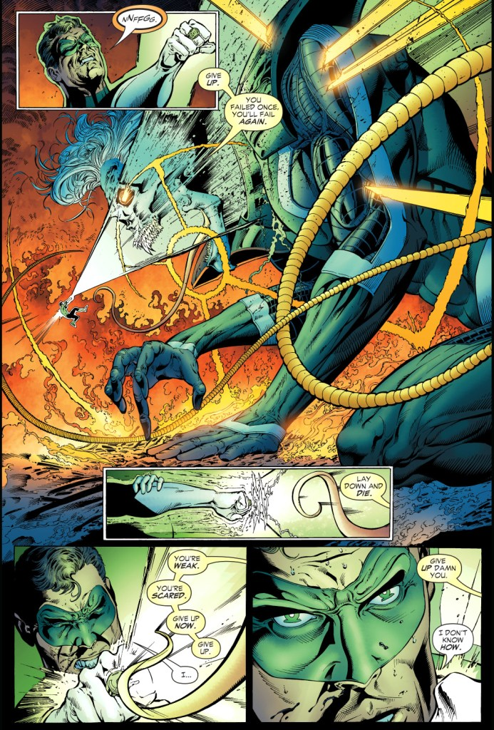 green lanterns vs ganthet-parallax 3