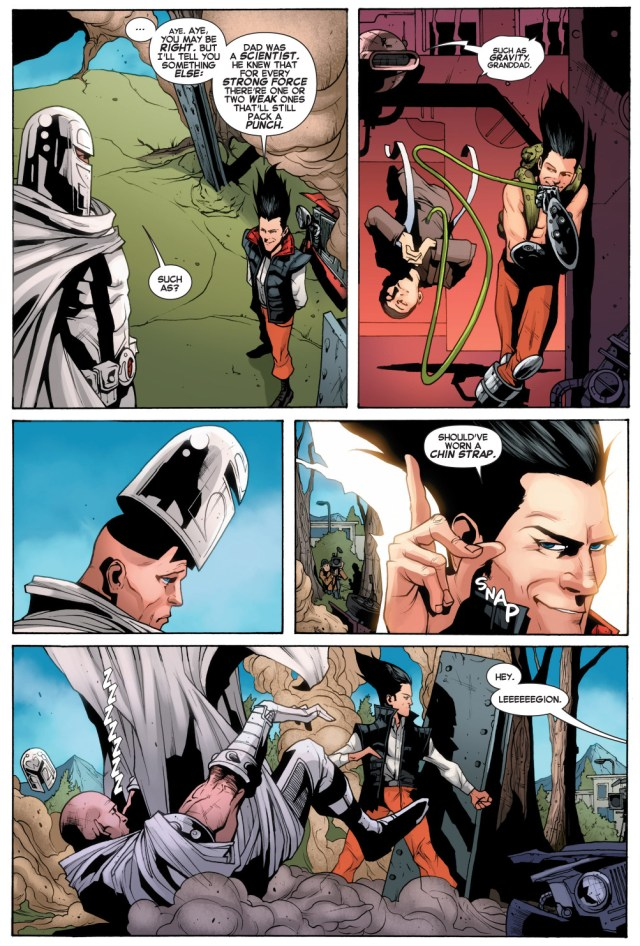 how legion beat magneto