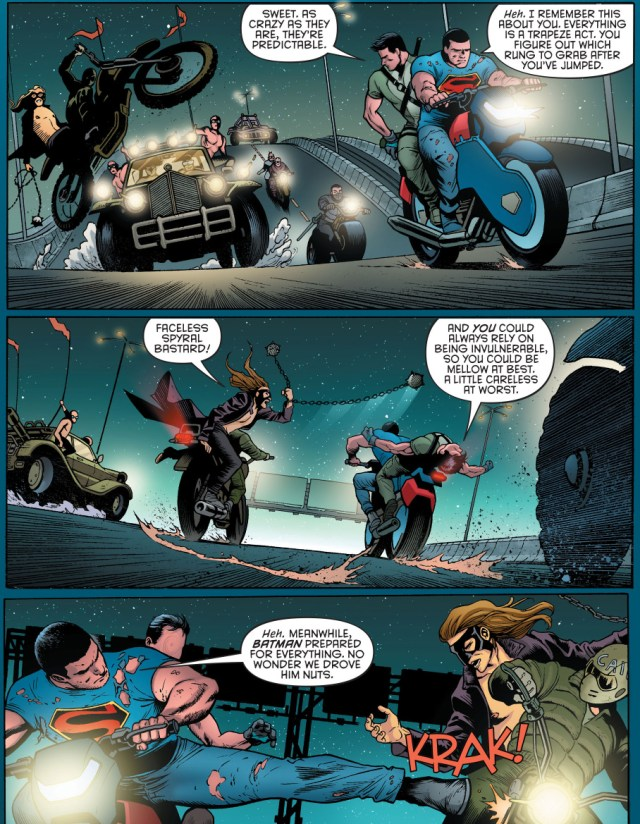 how superman and nightwing drove batman nuts