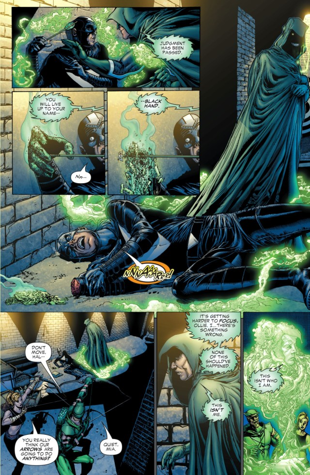 the spectre judges black hand