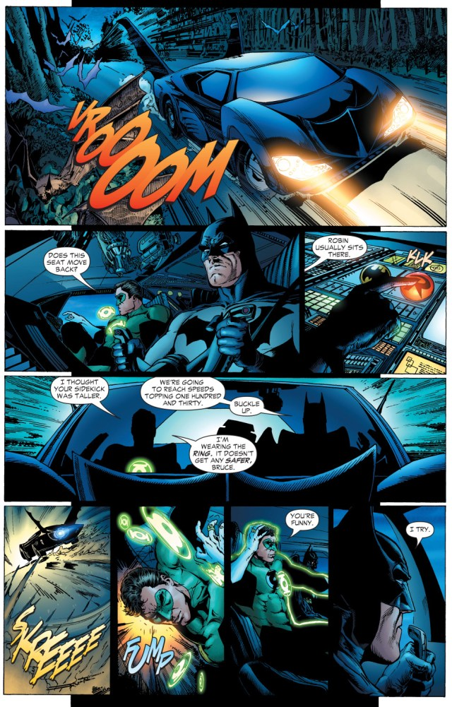 why batman insists on seatbelts