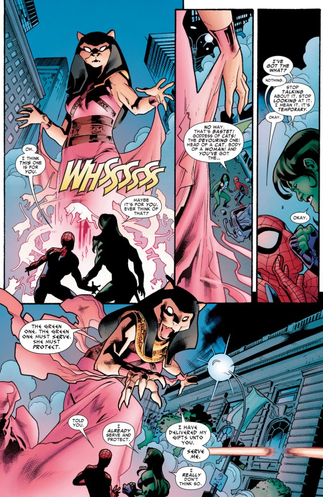 how spider-man tricked the goddess bastet