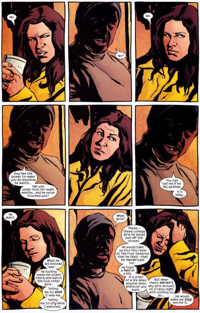 how the purple man tortured jessica jones