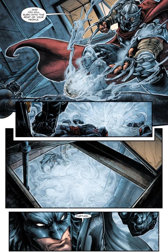 batman meets the shredder