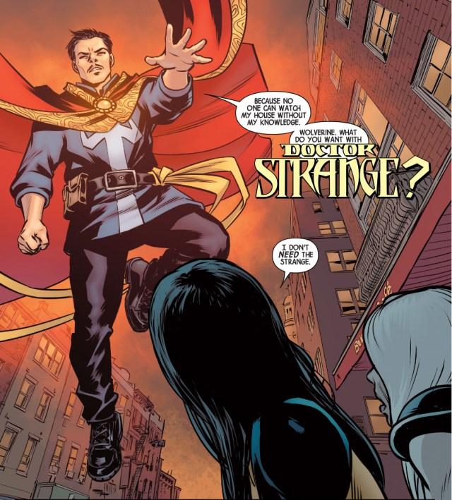 doctor strange (all new wolverine)