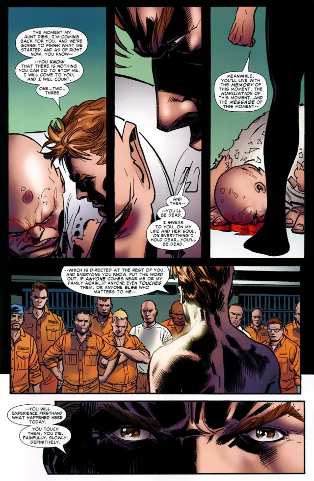 how peter parker killed the kingpin