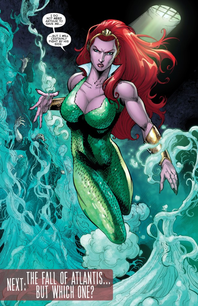 mera does not need saving