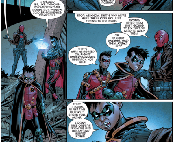 The one person damian wayne listens to