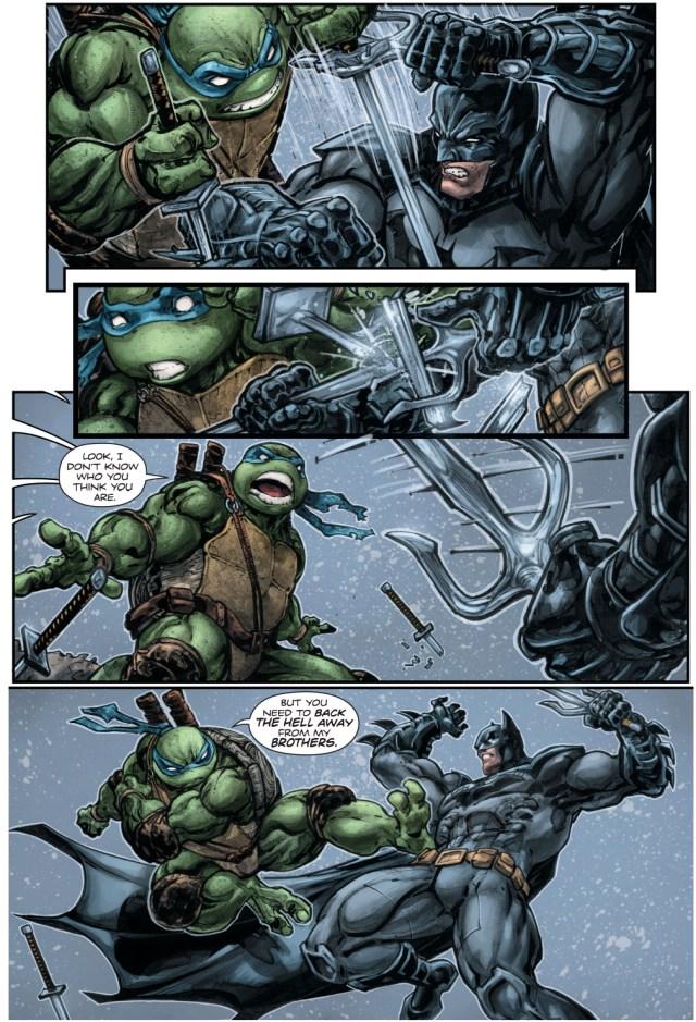 batman vs the teenage mutant ninja turtles