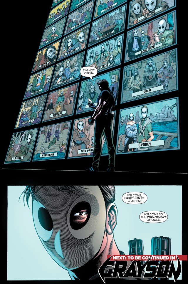 dick grayson joins the court of owls