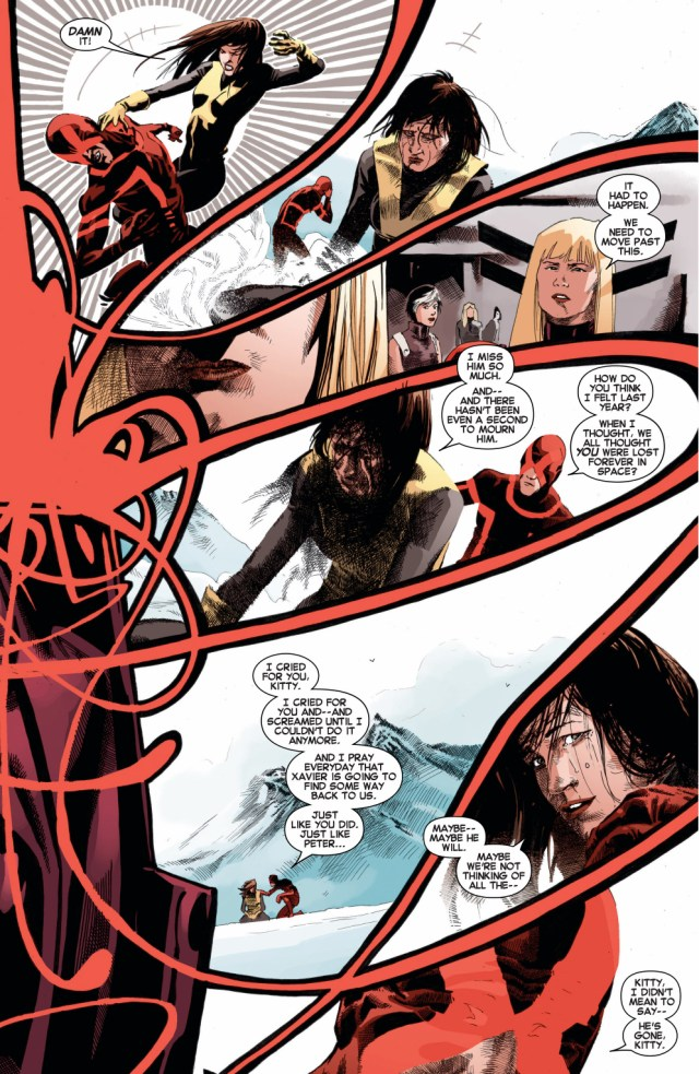 kitty pryde tries to kill cyclops