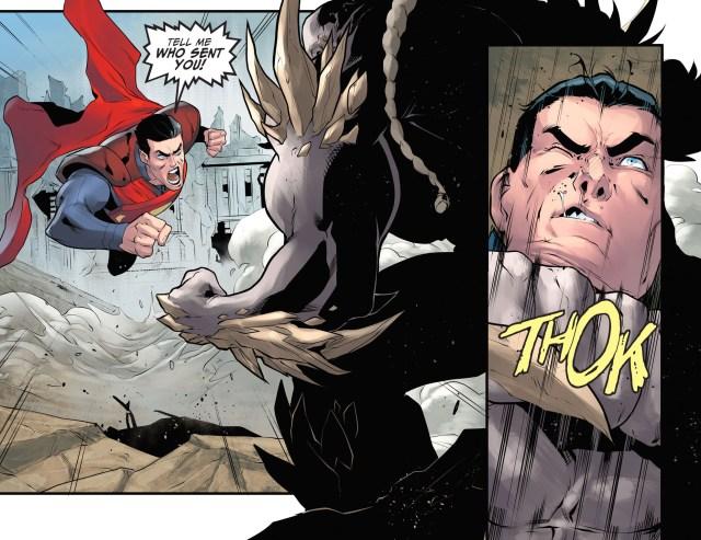 superman vs doomsday (injustice gods among us)