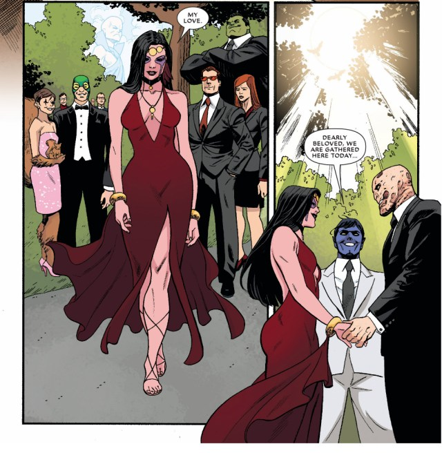 the wedding of deadpool and shiklah