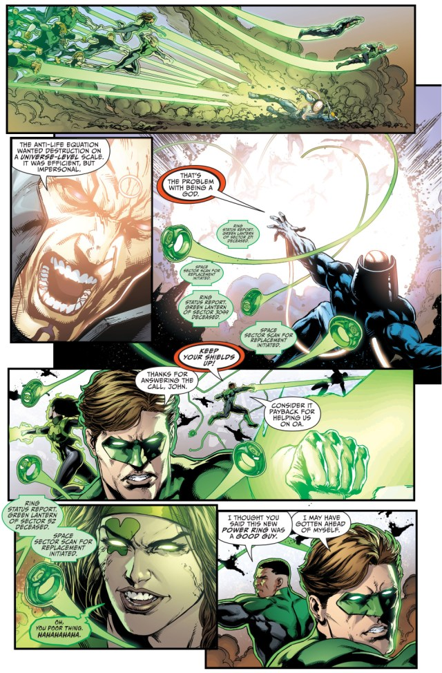 green lantern corps and power ring vs mobius