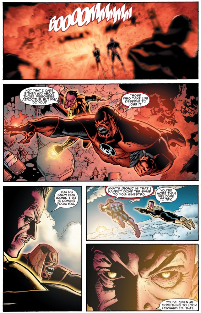 how atrocitus deals with murderers