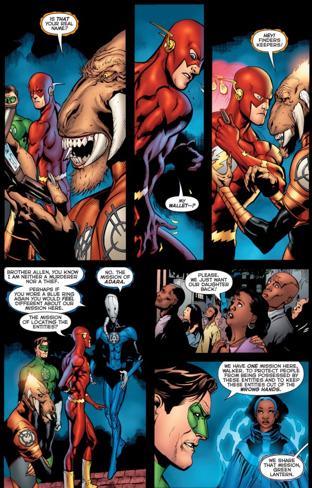 larfleeze is a skilled pickpocket