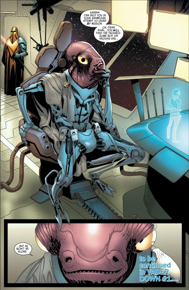commander karbin (darth vader #12)