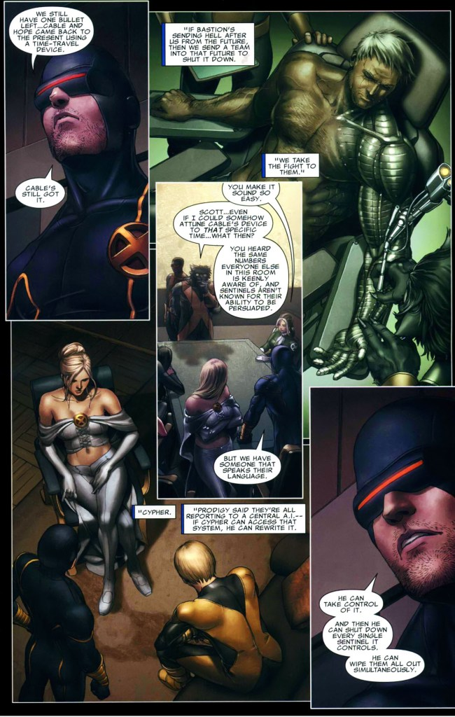 cyclops sends x-force on a suicide mission