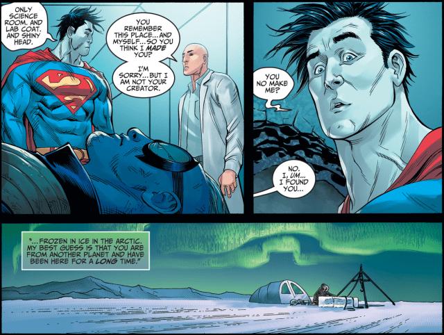 Lex Luthor Meets Bizarro (Injustice Gods Among Us)