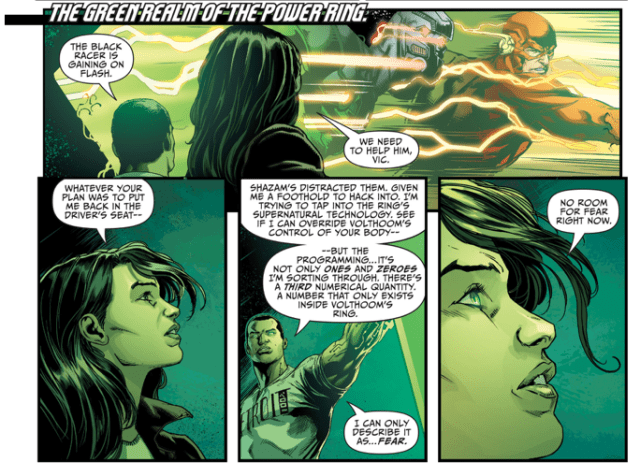 How Jessica Cruz Became A Green Lantern