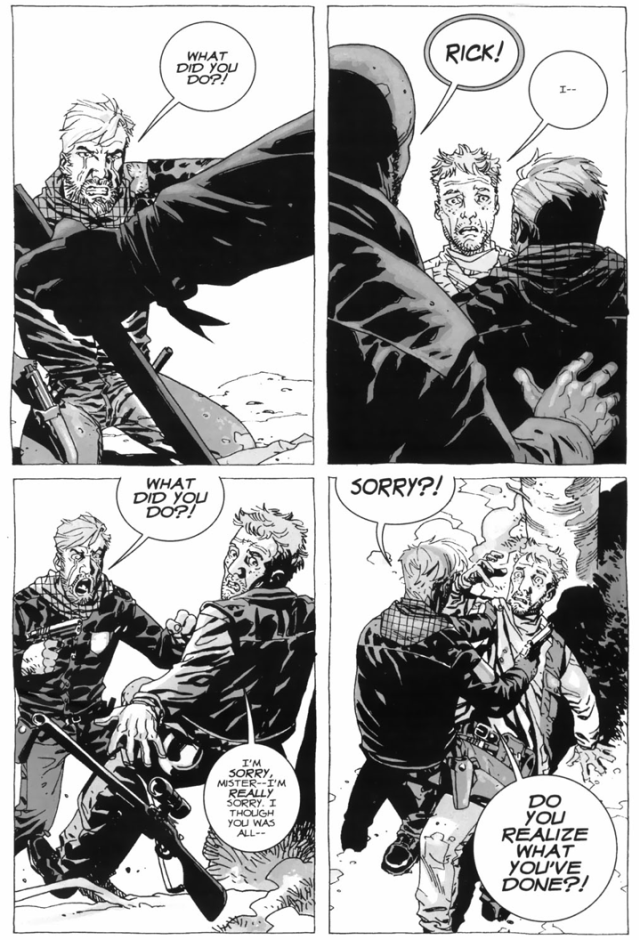 Otis Shoots Carl Grimes By Accident (The Walking Dead)