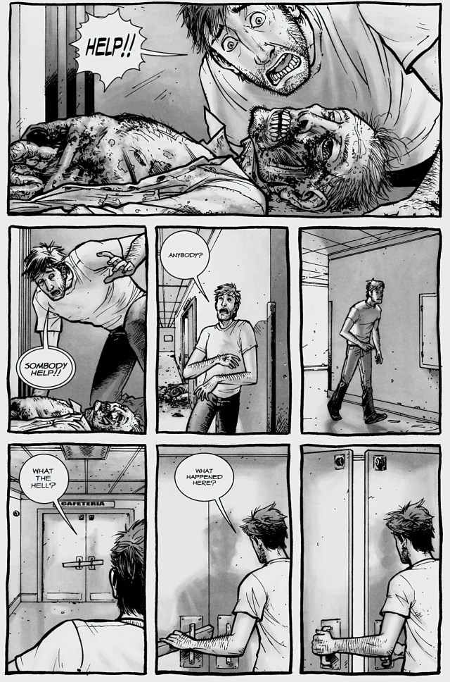 rick grimes first encounters a walker