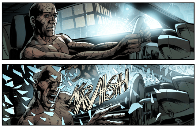 Batman Hunts Down Victor Zsasz (Injustice Gods Among Us)